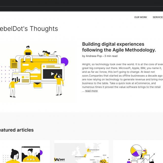 RebelDot - Blog